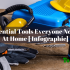 10 Essential Tools Everyone Needs At Home [With Infographic]
