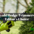 Ryobi Hedge Trimmer Reviews in 2020 – Editor's Top 3 Picks with A Complete Buying Guide
